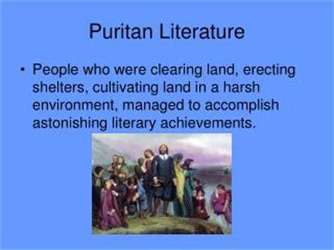 themes in puritan literature ppt characteristics of puritan literature powerpoint