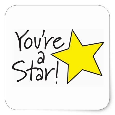 Unique Gifts For Mom by You Re A Star Sticker Zazzle