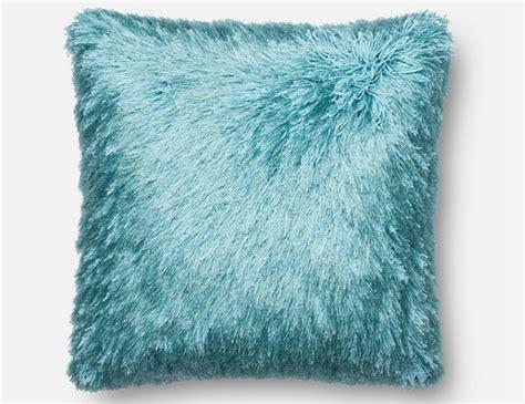 Blue Fluffy steinhafels decor accents pillows