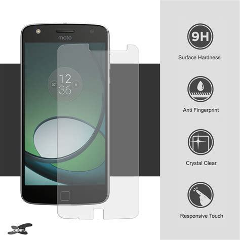 Tempered Glass Giver Motorola Moto Z Play 9h tempered glass screen protector motorola moto z play