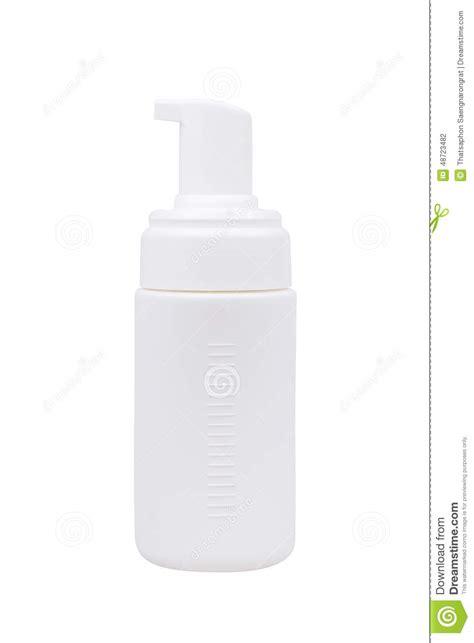 White Liquid Soap Limited gel foam or liquid soap dispenser plastic bottle white gray ready for your design