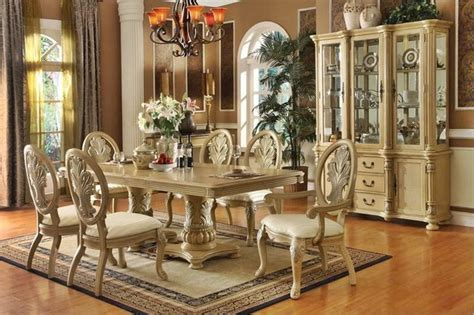 antique dining room furniture styles white classic design ideas with decorative plants antique