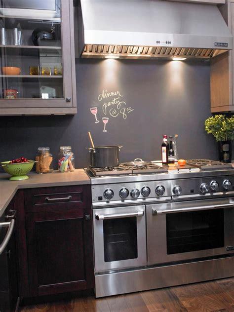 chalkboard backsplash modern kitchen backsplash ideas for cooking with style