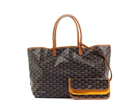 Goyard St Louis Tote Bag Pm Black goyard black st louis pm tote bag new