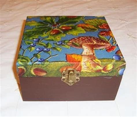 tutorial de decoupage en madera caja madera decoupage 2 handspire