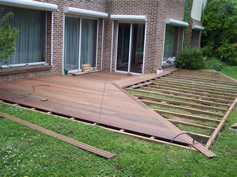 comment faire une terrasse en bois pas cher 2845 comment installer une terrasse en composite 7 faire une