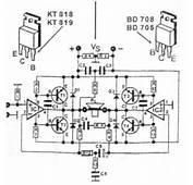 200w Transistor Audio Amplifier Circuit P Marian