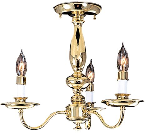 Jamestown I Collection 15 Dia Medium Traditional Semi Traditional Ceiling Light