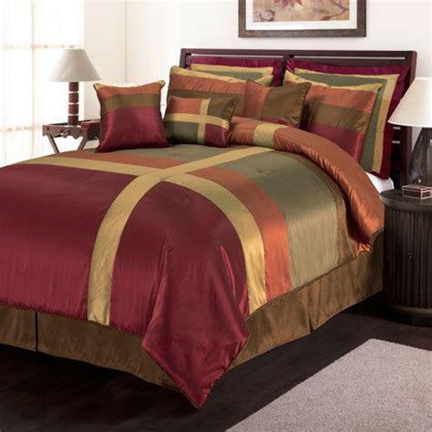 red california king comforter sets hallmart collectibles decadence queen nine piece comforter