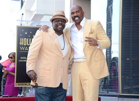 steve harvey walks atlanta radio host down the aisle steve harvey gets star on hollywood walk of fame