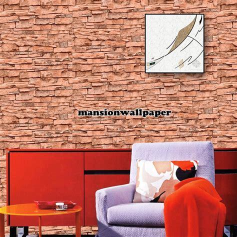 harga wallpaper motif batu bata jual wallpaper dinding motif batu bata alam 3d tipe 3