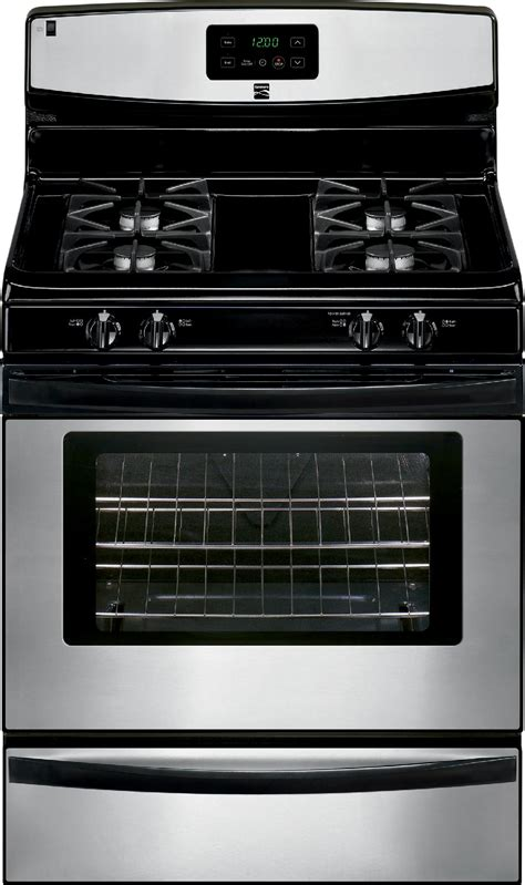 Broil And Serve Drawer by Kenmore 73233 4 2 Cu Ft Gas Range W Broil Serve