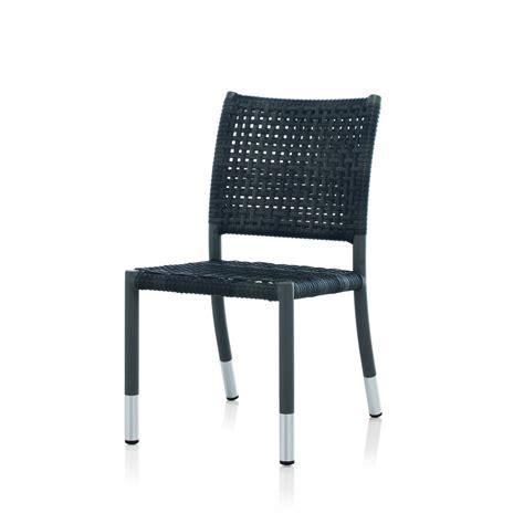 chaise de jardin en r 233 sine tress 233 e brin d ouest