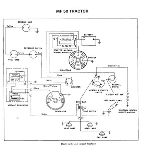 massey ferguson electrical diagram wiring diagram for massey ferguson 35 readingrat net