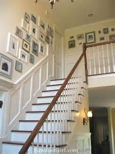 Decorating Ideas For Staircase Walls Staircase Wall Decorating Ideas Traditional Staircase