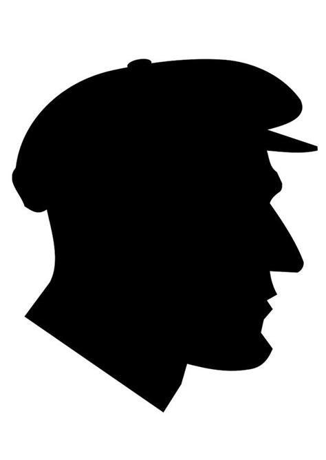 Coloriage homme avec casquette - Coloriages Gratuits à