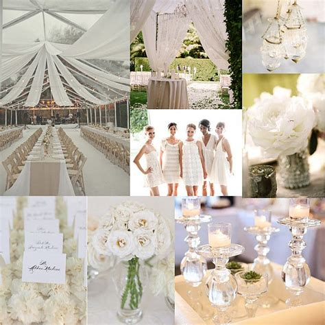 all white wedding theme every little girls dream of a