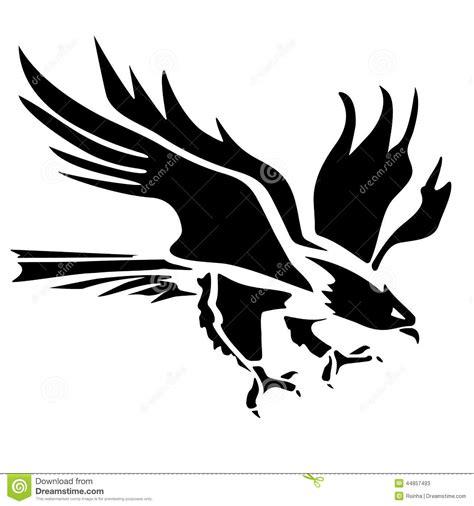 eagle icon illustration stock vector image of decoration