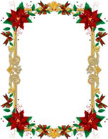 Christmas poinsettia frame christmas graphics amp illustrations pin