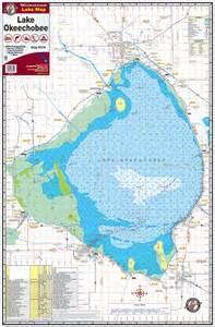 map of lake okeechobee florida lake okeechobee 334 kingfisher maps inc