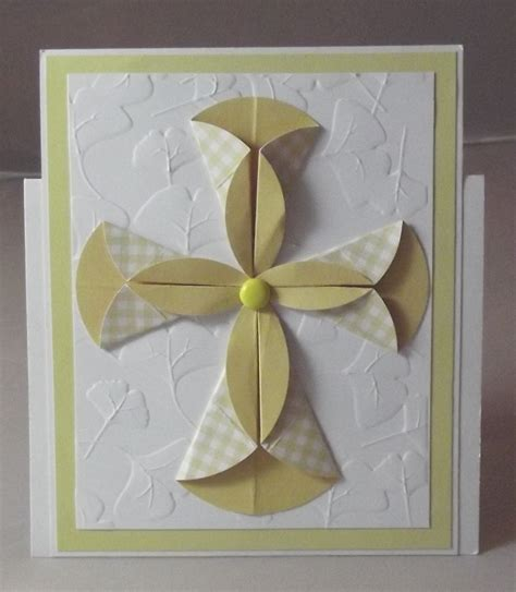 How To Make Handmade Paper Ls - 1000 ideas about christening card on handmade