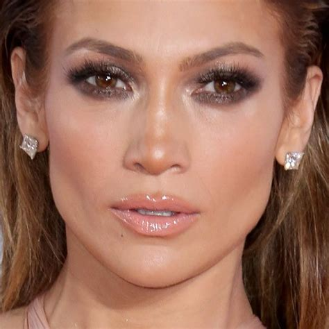 jennifer lopez makeup charcoal eyeshadow amp lipstick