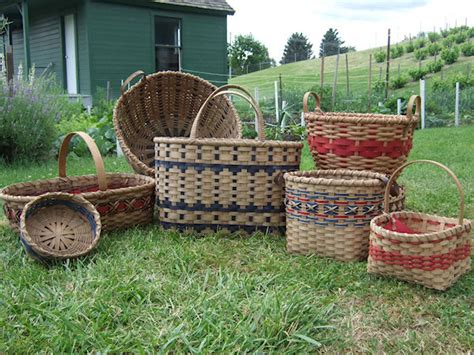 Baskets Handmade - handmade market kitchen tote and laundry baskets
