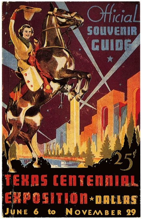 state fair of texas centennial celebration posters 1936 reproductions ebay 19 best images about texas centennial exposition 1936 on