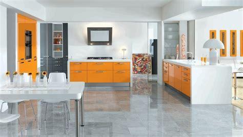 cocina arcos sunset orange de schmidt imagenes  fotos