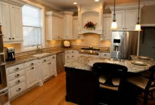 Reface Your Kitchen Cabinets cream kitchen cabinets with black appliances home