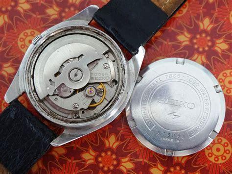 Seiko Antik 7006 jam vintage ku seiko automatic 19 jewels 7006 7090 circa 1975