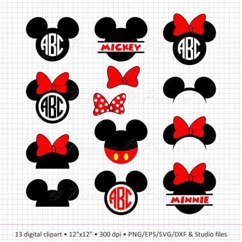 Myu Mickey Buy 2 Get 2 buy 2 get 1 free digital clipart mickey mouse monogram