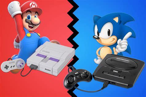 nintendo sega console console wars nintendo vs sega le jeux vid 233 o