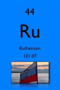 Ruthenium Number Of Protons Salksperiodictable Ruthenium