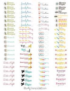 organizational calendar template planner organization labels alysts