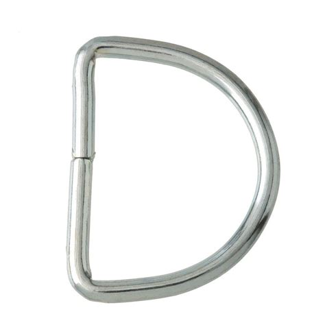 everbilt 1 5 16 in zinc plated d ring 811188 the home depot