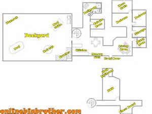 big brother house floor plans