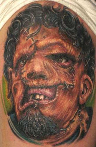 leatherface tattoo 6 amazing leatherface designs