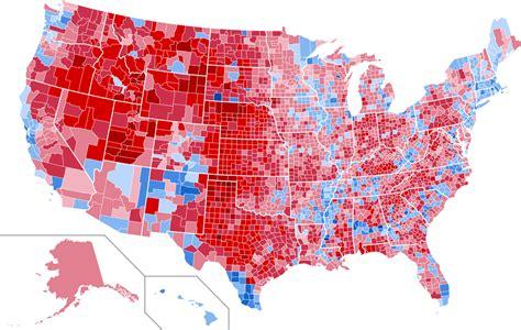 map of usa votes by county file 2000nationwidecountymapshadedbyvoteshare svg
