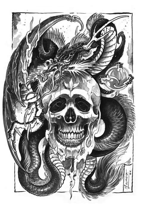 evil dragon tattoo designs tattoos and designs page 162