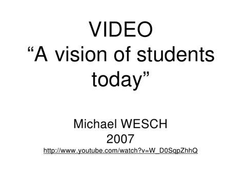 a vision of students today youtube obrero del conocimiento 2 0 estudiantes en el siglo xxi pdf