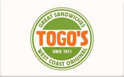 Bertucci S Gift Card Discount - buy togo s gift cards raise