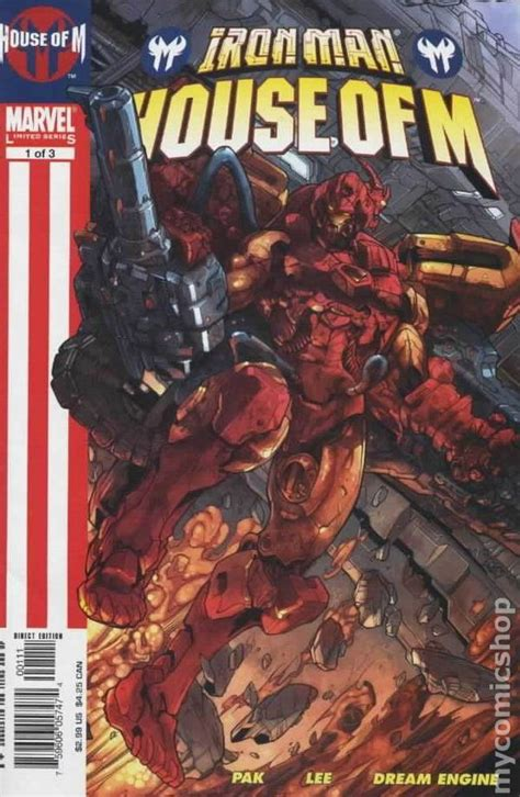 Marvel House Of M iron house of m 2005 comic books