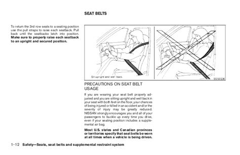 car engine manuals 2007 nissan pathfinder seat position control 2007 pathfinder owner s manual