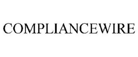 Alert Is Wired The Entertainment by Compliancewire Trademark Of Eduneering Holdings Inc