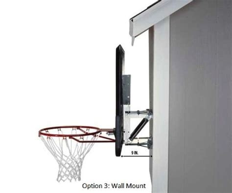 Basketball Hoops That Attach To Garage by 17 Best Ideas About Basketball Backboard On