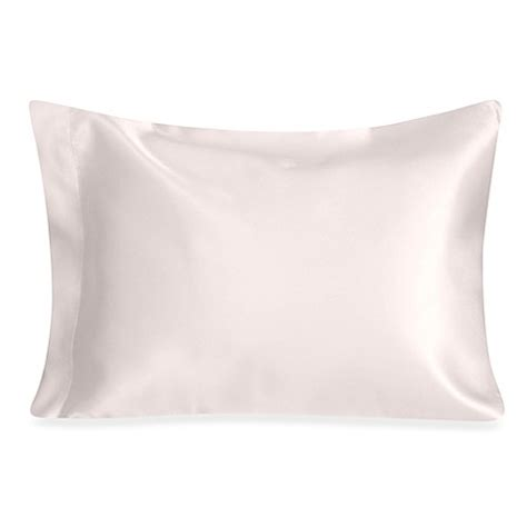 silk pillow cases bed bath beyond nojo 174 toddler satin pillow in white bed bath beyond