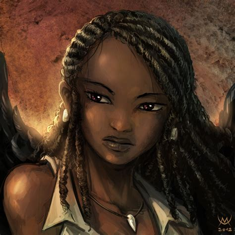 black woman portrait by florin chis on deviantart furia portrait by maxa art on deviantart