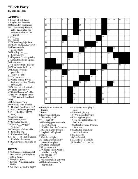 easy crossword puzzles across lite free daily crossword printable crosswords archives