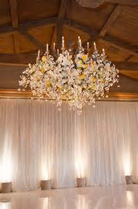Chandelier Weddings Hanging Flowers Part 2 The Magazine